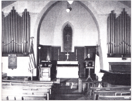 Aspinwall Evangelical Lutheran Church - Interior