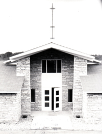 Good Shepherd Lutheran Church of Fox Chapel – Old Entrance Without Narthex
