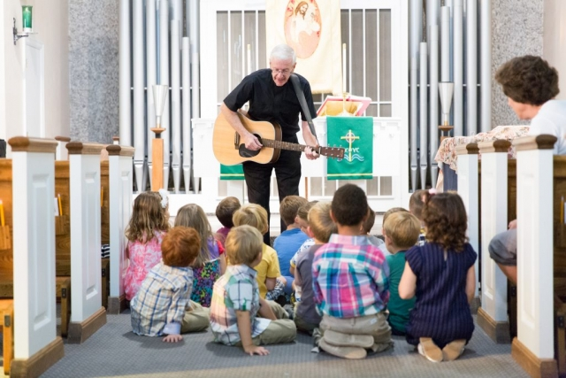 Chapel Time - Good Shepherd Preschool