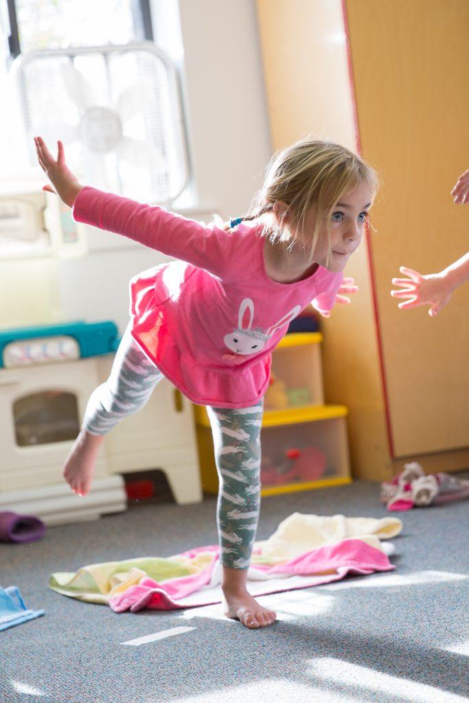 Yoga at Good Shepherd Preschool