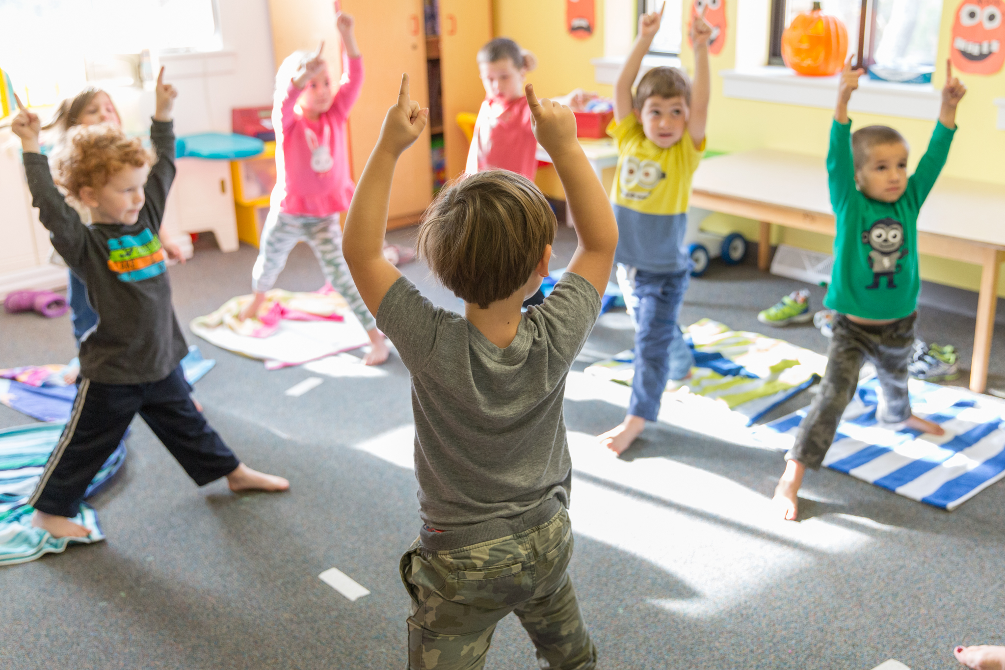 Yoga at Good Shepherd Preschool