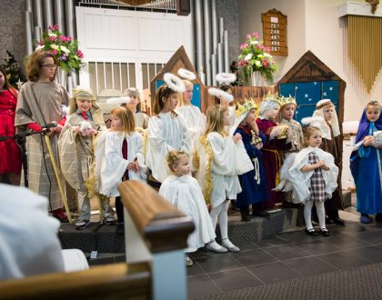 Save the Date: Children's Christmas Pageant & Hors d'oeuvres - Sunday, Dec. 17, 10:30 a.m.