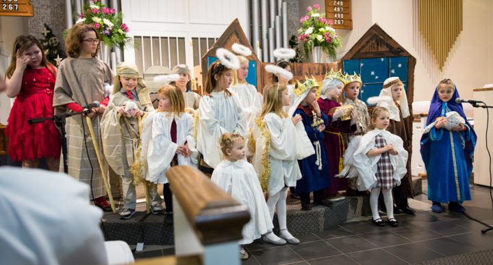 Save the Date: Children's Christmas Pageant - Sunday, Dec. 17, 10:30 a.m.