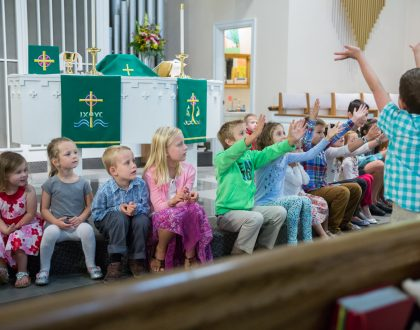 View Photos from the First Day of Sunday School 2017