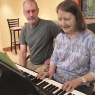 GSLC Donates Piano to RoseCrest Assisted Living Community