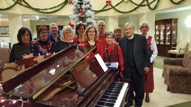 GSLC Leads Christmas Program at Lighthouse Pointe