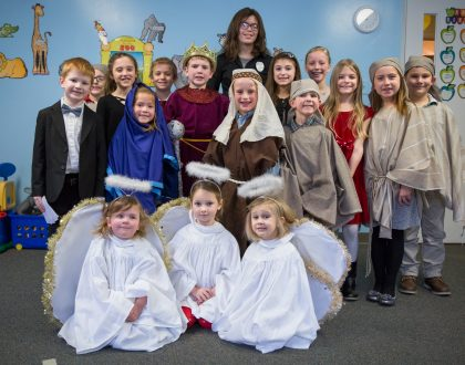 View Photos from the Children's Christmas Pageant - 2017