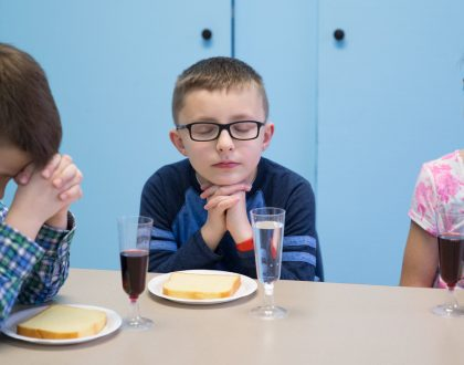 View Photos from a Children's Last Supper Experience
