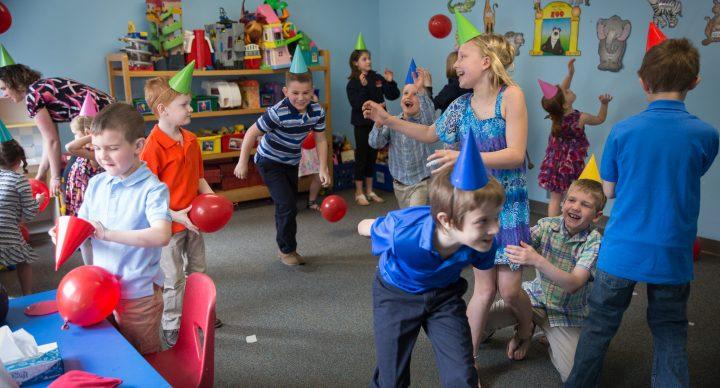Sunday School Students Celebrate the Birthday of the Christian Church (Pentecost)