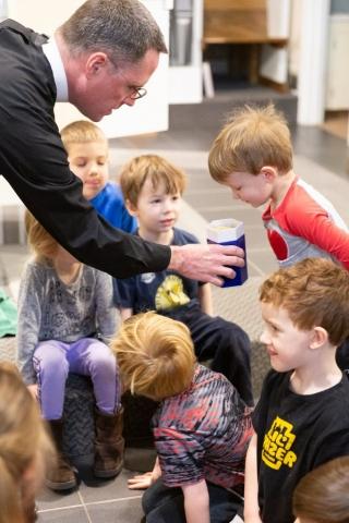 Chapel Time - Good Shepherd Preschool