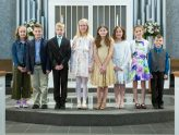 Ten Children Receive First Holy Communion - April 7, 2019
