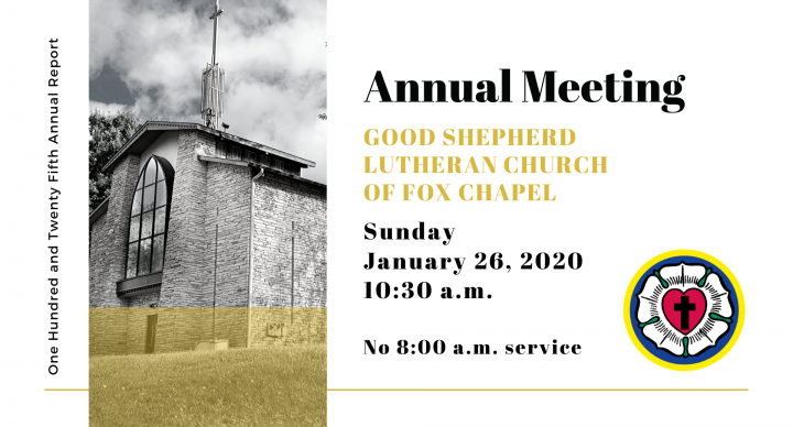 125th Annual Congregational Meeting