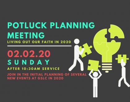 Potluck Planning Meeting
