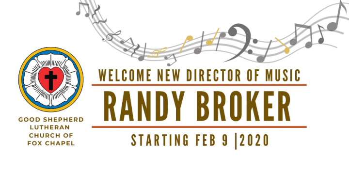 Randy Broker Announced as New Director of Music