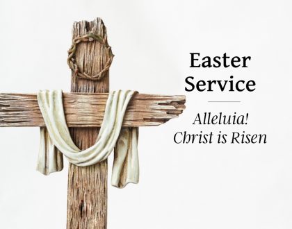 Easter Sunday At-Home Service for April 12