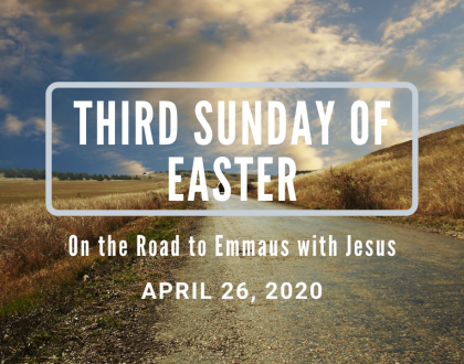 Third Sunday of Easter At-Home Service for April 26