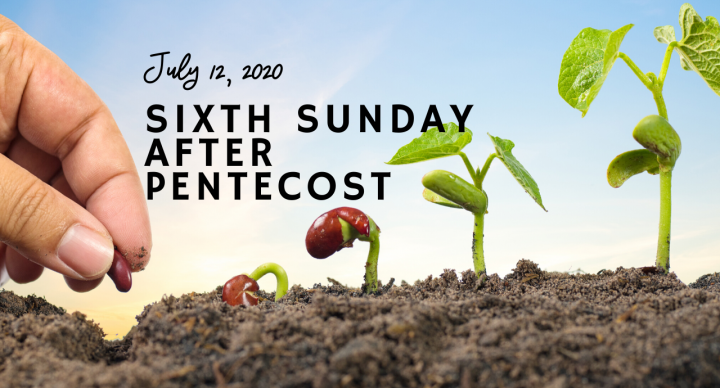 Sixth Sunday After Pentecost At-Home Service for July 12