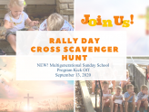 Rally Day Kicks Off Sept 13 with NEW Multigenerational Sunday School Program