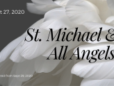 Festival of St. Michael & All Angels At-Home Service for Sept 27