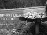 Twenty-Third Sunday After Pentecost At-Home Service for Nov 8
