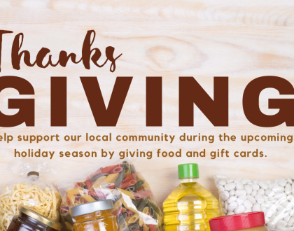 It's Time for Thanks & Giving  - How You Can Lend a Hand in Our Community