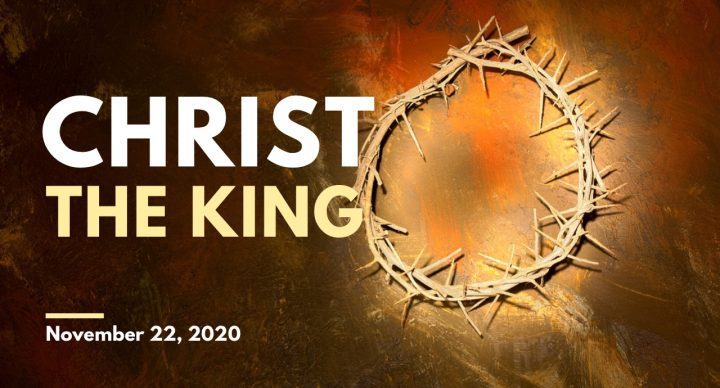 Christ the King Sunday At-Home Service for Nov 22