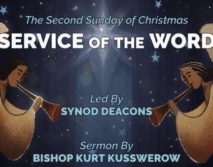 Second Sunday of Christmas At-Home Service for Jan 3