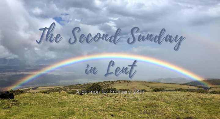 The Second Sunday in Lent, At-Home Service for February 28
