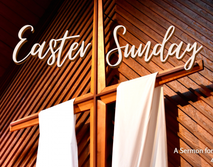 Easter Sunday, At-Home Service for April 4th