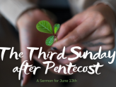 The Third Sunday after Pentecost, At-Home Service for June 13th